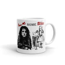 Love Me Some Alice Mug/Alice Cooper & Alice in Wonderland/Novelty Mug