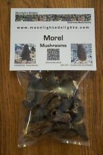 1 oz Dried Morel Mushrooms Picked Fresh Moonlight's Delights Quality Grade AAA