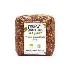Organic Chilli Flakes 500g