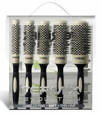 12 TERMIX EVOLUTION SOFT CASE OF 5 HAIR BRUSHES (17, 23, 28, 32 and 43 mm)