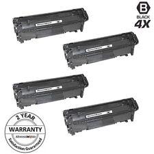 4pk FX10 FX-10 FX9 Toner Cartridge 104 for Canon ImageClass MF4350D MF4370DN