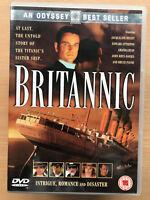 Britannic DVD 2000 Titanic Sister Nave TV Drammatico Film W/Jacqueline Bisset