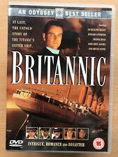JACQUELINE BISSET BRITANNIC 2000 TITANIC Sister NAVE TV Drammatico Film