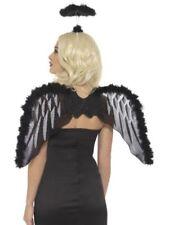 Accessori neri per carnevale e teatro poliestere , sul angeli