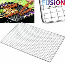 Bbq Barbecue Grill Stainless Steel Replacement Mesh Wire Net Outdoor Cook New