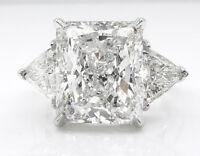Fashion Huge White Sapphire Gemstone 925 Silver Ring Wedding Women Jewelry Gifts