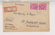 Bizone/AM-Post, Mi. 30 MeF, R-Papenburg/Ems, 15.2.46
