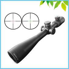 10-40X50 Glass Cross Reticle Rifle Scopes Long Range Riflescope w/ Free Mount
