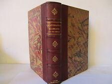 La Littérature Allemande au XIX par Adler MESNARD, 1889, Ed Delagrave,relié
