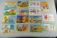 Lot 15 Vintage Comic Humor Gag Joke Postcards