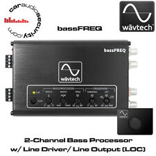 WavTech bassFREQ - 2-Channel Bass processor w/ Line Driver/ Line Output  (LOC)