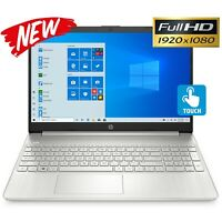 "NEW HP 15.6"" FHD 1080P Touch- Intel Core i7- upto 512GB SSD- upto 32GB RAM- HDMI"