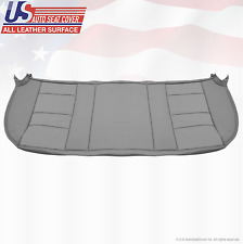 2002 2003 Ford F250 F350 Lariat Rear Bench Bottom Leather Seat Cover Color Gray