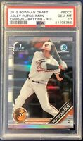 "2019 BOWMAN CHROME DRAFT RC #BDC-1 REFRACTOR ADLEY RUTSCHMAN ""NEW"" ""HOT""!!!"