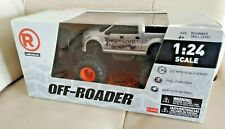 RadioShack Off Roader Remote Controlled Car Truck Vehicle 1:24 Scale Gray NEW