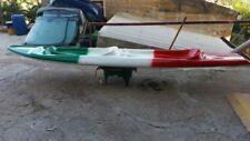 canoa kayak 2 posti in resina