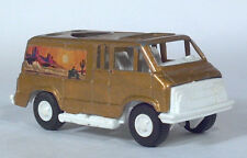 Tootsietoy 1971 Dodge RAM Tradesman Conversion Van California Scale Model 1972