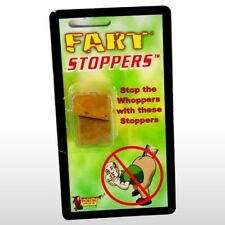 Fart Stoppers - Cork Butt Hole Ass Crack Stink  Plugs - Gag Prank Joke