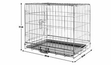 Single Door Metal Mesh with Carry Handle Pet Cage - Small