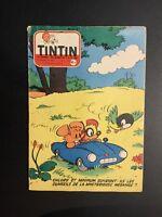 Journal Tintin n°442 de 1957 Éd Française avec point Tintin.