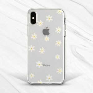 Flower Daisy Chamomile Nature Aesthetic Case For iPhone 6 7 8 Xs XR 11 Pro SE
