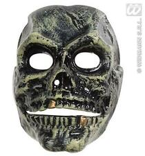 Scary Skull Mask With Moveable Jaw Halloween Skeleton Fancy Dress