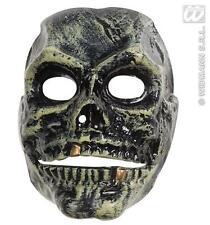 Spaventosa Maschera TESCHIO CON MASCELLA mobili Halloween Scheletro Costume
