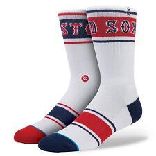 STANCE Boston Red Sox FENWAY MLB Crew Socks Men's Size S/M 6-8.5 NWT