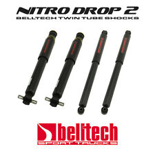 99-06 Silverado/Sierra Nitro Drop 2 Front/Rear Shocks for 4/6 Drop 2wd