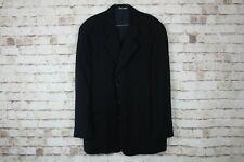 """Giorgio Armani Black Striped Sports Coat Chest size 46"""""""