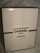 CHANEL CUIR DE RUSSIE  PARFUM .5 oz  sealed in box BNIB