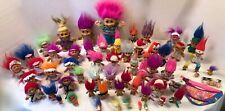 Trolls Doll1960-2001~Lot 65~Dam~Russ Uneeda Trollkins Ace Novelty Soma Playmates