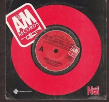 """Joe Jackson - You Can't Get What You Want / Cha Cha Loco - 1984 7"""" single 45rpm"""