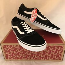 VANS PALOMAR SUEDE CANVAS BLACK WHITE SIZE UK 11