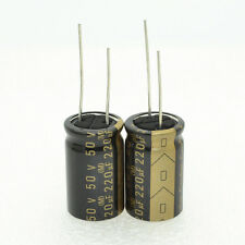 2pcs Japan ELNA Roa cerafine 220uf 50V for AUDIO electrolytic capacitors-4065