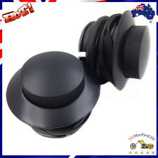 Black Fuel Tank Cap Pop Up Gas Cap Vented For Harley Models Custom 1982 - 2010