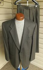 Burberry Green Olive Brown Suit 2 Button Wool 40 41 42
