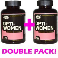 2X Optimum Nutrition Opti-Women 120 Capsules Women's Multivitamin 40+Ingredients