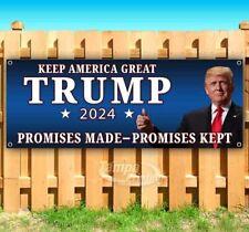 Keep America Great Trump 2024 Advertising Vinyl Banner Flag Sign Many Sizes Maga