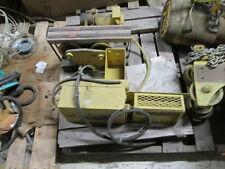 Dresser Budgit Model 116891-7 Chain Hoist w/ Trolley K356 2R 1-Ton 16FPM Used