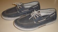 Sperry Top-Sider Men's Halyard Salt-Washed Gray and White Size 6 Shoes