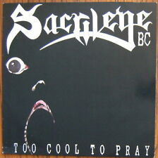 Sacrilege BC Too cool to Pray LP GWLP 47 with Medusa UK Info Sheet