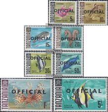 Tansania D9I-D16I (kompl.Ausg.) postfrisch 1967 Dienstmarken
