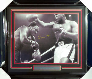 Cassius Clay Muhammad Ali Autographed Framed 16x20 Photo Steiner Holo 158402