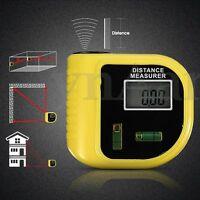 Handheld Digital Laser Point Distance Meter Test Measure Tape Range Finder 18m