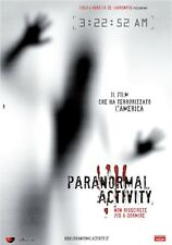 POSTER PLASTIFICATO FOTO LOCANDINA PARANORMAL ACTIVITY 2 3 HORROR THRILLER #2