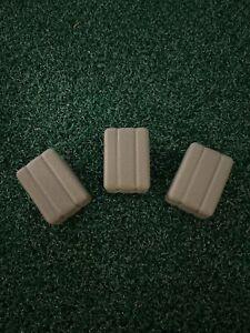 Farm Toy - ERTL 1/16 Lighter Green Hay Bales - 3 count