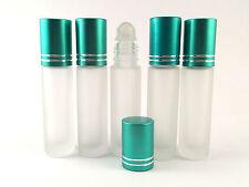 EMPTY GLASS 1X10ML ROLL ON BOTTLES - LIQUIDS ESSENTIAL PERFUME OIL - REFILABLE