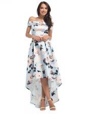 "Chi Chi London ""Nevaeh Evenig/Party Dress"" Blue Size-16"