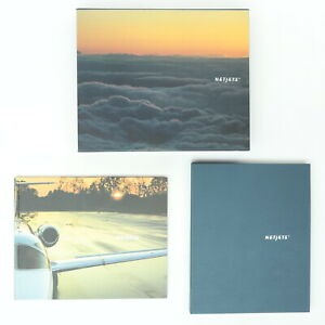NetJets Book Gift Set 2 Books in Box Coffee Table Private Jet Program Overview